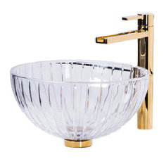 De Medici Luxury LED Crystal Vessel Sink