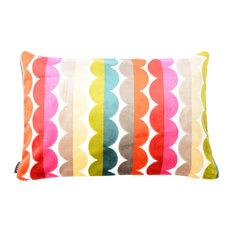 Grace Lumbar Cut Velvet Pillow