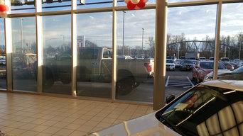 Puyallup Nissan Live Window Display