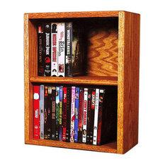 Dvd Storage Cabinet Honey