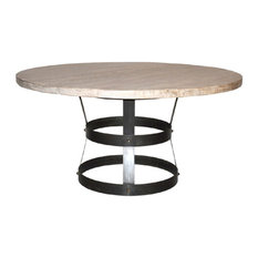 CFC Furniture -inchBasket-inch Dining Table 60-inch