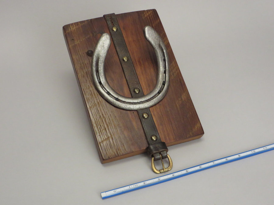 #R15097 Reclaimed Lumber, Horse Shoes, Tack Leather