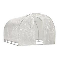 "Weatherguard 6'6""x8'x12' Round Top Greenhouse"