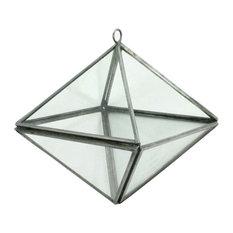 Pierre Geometric Terrarium, Octahedron, Zinc