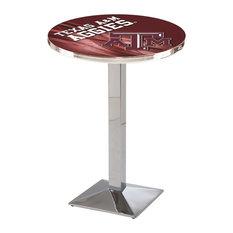Texas A&M Pub Table 36-inchx36-inch by Holland Bar Stool Company