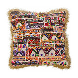 Aztec Fringed Cushion - Cover Only