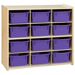 Contemporary Toy Organizers by Wood Designs