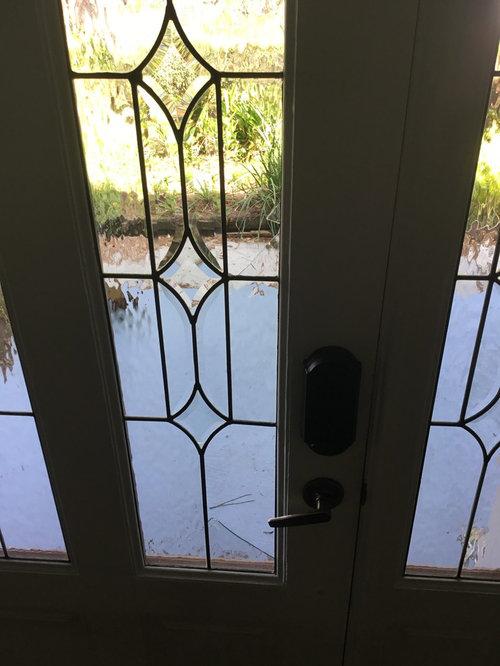 The Glass Pane Insert Broke On My Door. Options To Fix?
