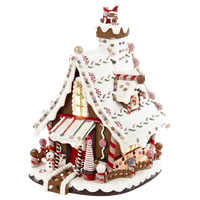 "12"" Lighted Christmas Gingerbread House"