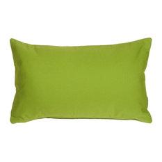 Pillow Decor - Sunbrella Macaw Green 12 x 20 Outdoor Pillow