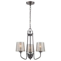Elegant Transitional Chandeliers by Varaluz