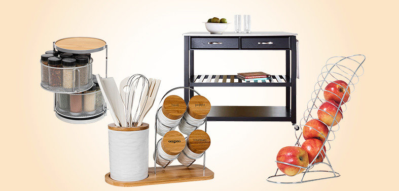 Equip Your Kitchen With These Helpful Picks From The Houzz Shop, And Youu0027ll  Be On Your Way To A Refreshingly Organized Space For Cooking, ...