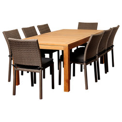 New Contemporary Outdoor Dining Sets by International Home Miami Corp