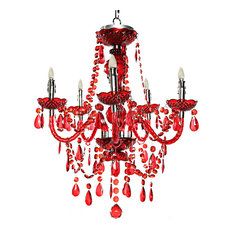 50 most popular eclectic chandeliers for 2018 houzz river of goods tracy porter royal rojo cordless led chandelier remote control chandeliers aloadofball Gallery