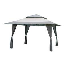 Pop-Up Garden Gazebo, Grey