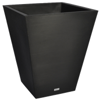 """Pro Series Linear Grooved Planter, 30"""", Black"""