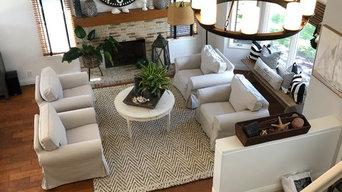 Living Room and master brdroom restaging