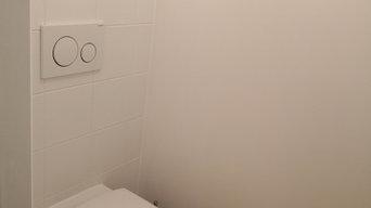 WC suspendu sur pompe de relevage SFA Saint-Cyr-sur-Loire 37