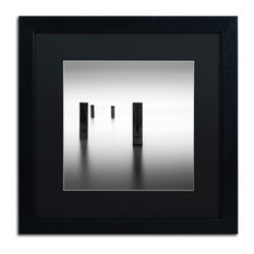 'Lucid' Matted Framed Canvas Art by Dave MacVicar