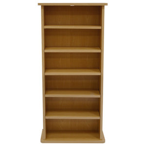 Chak 222-CD or 104-DVD Media Shelf Unit, Beech