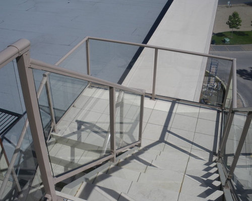 Traditional Glass Railings - Products