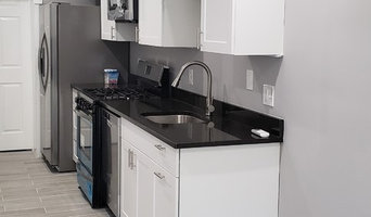 Bright White Kitchen and Bathroom Remodel Project