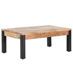 Industrial Coffee Tables by Madeleine Home Inc.