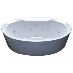 Contemporary Bathtubs by SpaWorld Corp