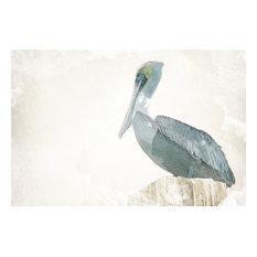 """Watercolor Pelican"" Canvas Art, 24""x16"""