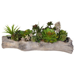 Rustic Artificial Plants And Trees by JENNY SILKS