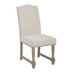 Brikk   Vera Dining Chair, Linen   Dining Chairs