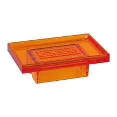 Lem Soap Dish, Orange