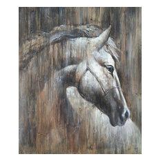 Wall Decor Painting Texas Horse I