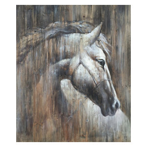Wall Decor Painting Texas Horse I
