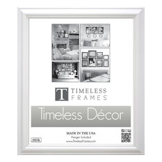 Brenna Wood Picture Frame, White,12''x16''