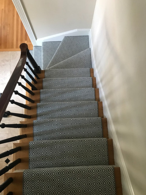 Flat Weave Wool Stair Runner   Hall And Stair Runners