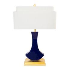 """Bellaria Table Lamp, Indigo Blue, 30""""H"""