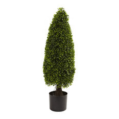 """3"""" Boxwood Tower Topiary UV Resistant , Indoor or Outdoor"""