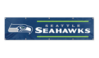 Seattle Seahawks Giant 8' Banner