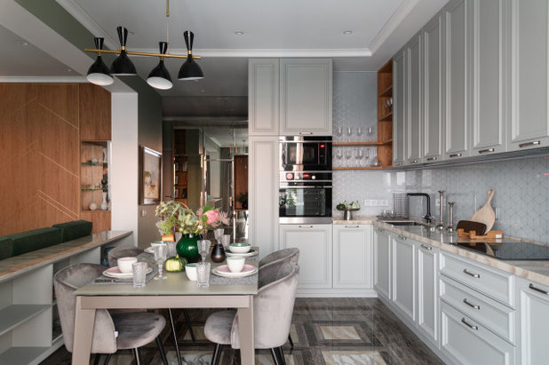 Современный Кухня by Happy House Architecture&Design