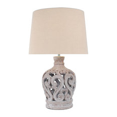 Marolo Table Lamp Stone
