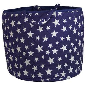 Blue Star Toy Basket