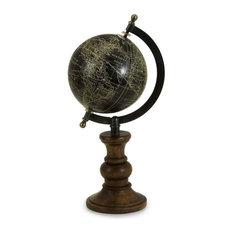 Mango Wood Moonlight Globe