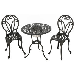Traditional Outdoor Pub And Bistro Sets by GDFStudio