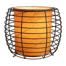 Outdoor Indoor Konani Lamp, Orange