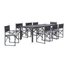 Zircon Outdoor Dining Set, 8 Person