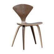 Fine Mod Imports Wooden Side Chair, Walnut