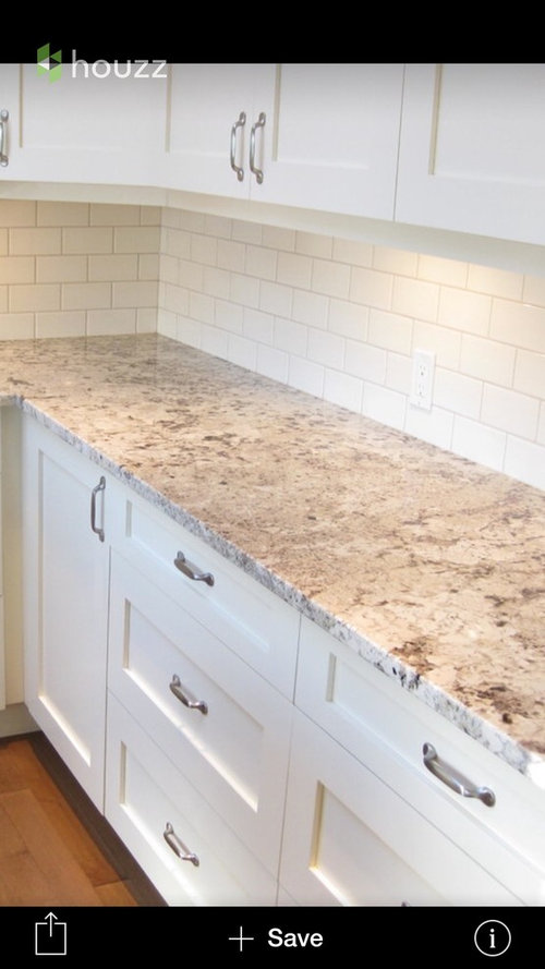 Kitchen Backsplash Grey Countertop