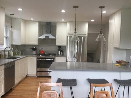 Ikea Grimslov Off White Subway Tile Backsplash