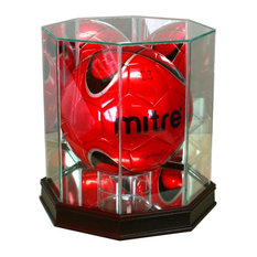 Octagon Soccer Ball Display Case
